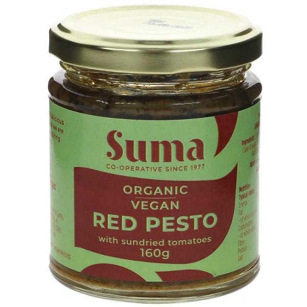 Βιολογικό Πέστο Κόκκινο Vegan Bio 160γρ., Suma Wholesale