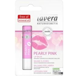 Βιολογικό Βάλσαμο Χειλιών Pearly Pink 4,5γρ., Bio, Lavera