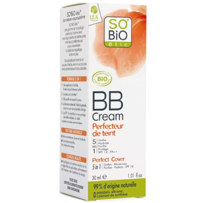 Βιολογική BB cream Perfecteur du teint 01 Nude 30ml, So Bio