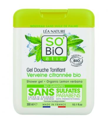 Βιολογικό Αφρόλουτρο Λεμόνι & Βέρβενα 300ml, So Bio
