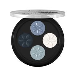 Βιολογική Τετραπλή Σκιά Ματιών, Νο 7 Blue Platinum, Bio, Lavera