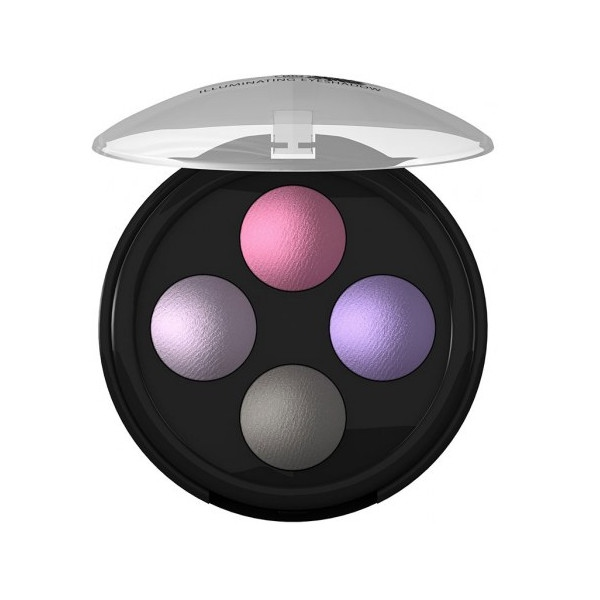 Τετραπλή Περλέ Σκιά Ματιών Illuminating Eyeshadow No2 Lavender Couture, Bio, Lavera
