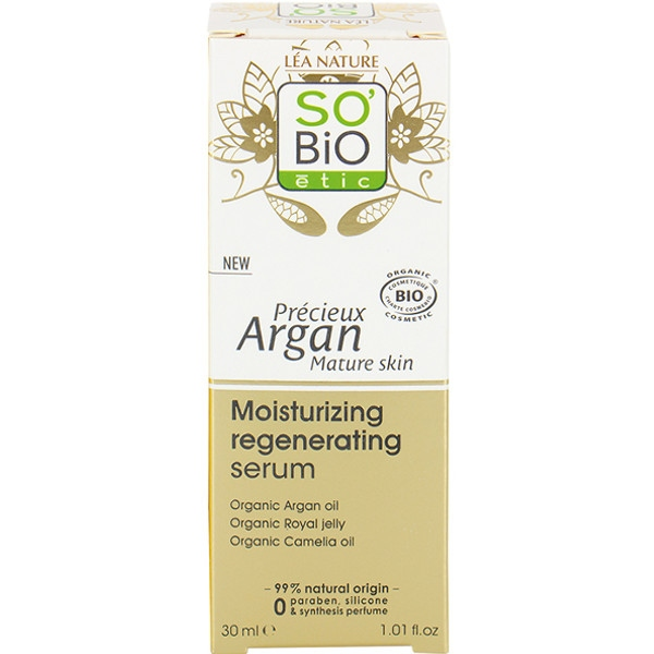 Ενυδατικός Ορός Moisturizing Regenerating Serum 30 ml, So Bio