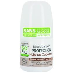 Deodorant sensitive and dried skin, Coco 50ml