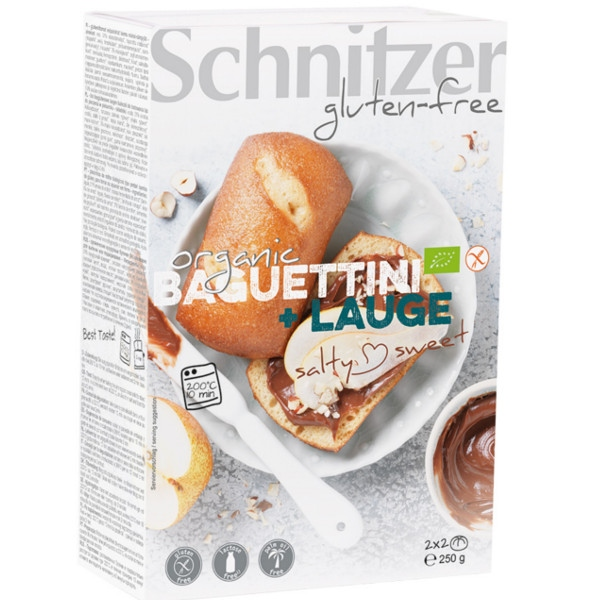 Βιολογικά Ψωμάκια Bretsels Bio Χωρίς Γλουτένη 250γρ., Schnitzer