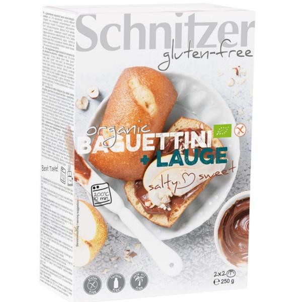 Βιολογικά Ψωμάκια Pretsels Bio Χωρίς Γλουτένη 250γρ., Schnitzer