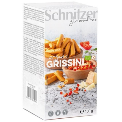 Βιολογικά Κριτσίνια με Ντομάτα & Τυρί Bio 100γρ., Schnitzer
