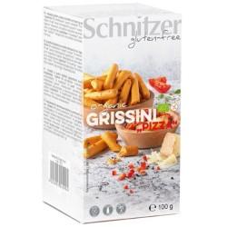 Βιολογικά Κριτσίνια με Ντομάτα & Τυρί, Bio 100γρ., Schnitzer