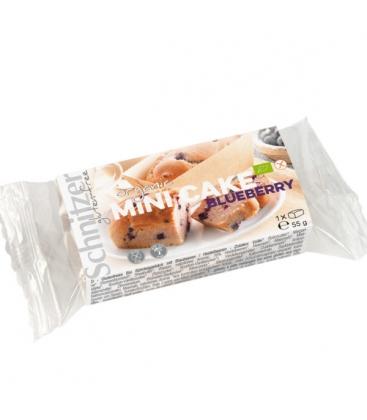 Βιολογικό Μίνι Κέικ με Μύρτιλο 55γρ, Χωρίς Γλουτένη Βio Schnitzer