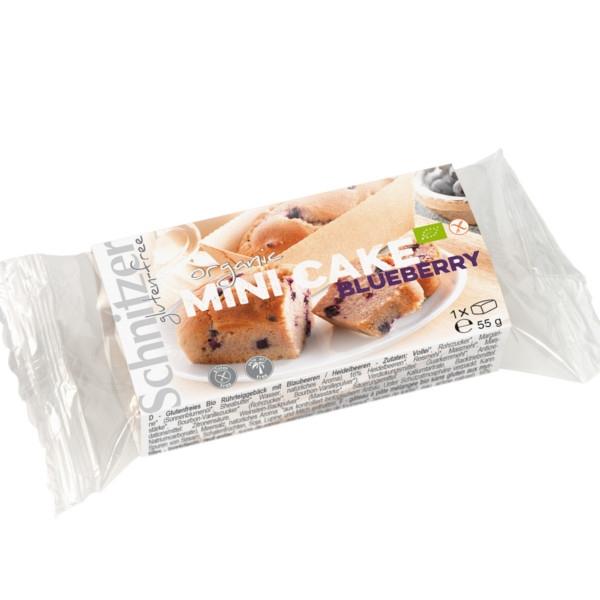 Βιολογικό Μίνι Κέικ με Μύρτιλο 55γρ, Χωρίς Γλουτένη, Βio, Schnitzer
