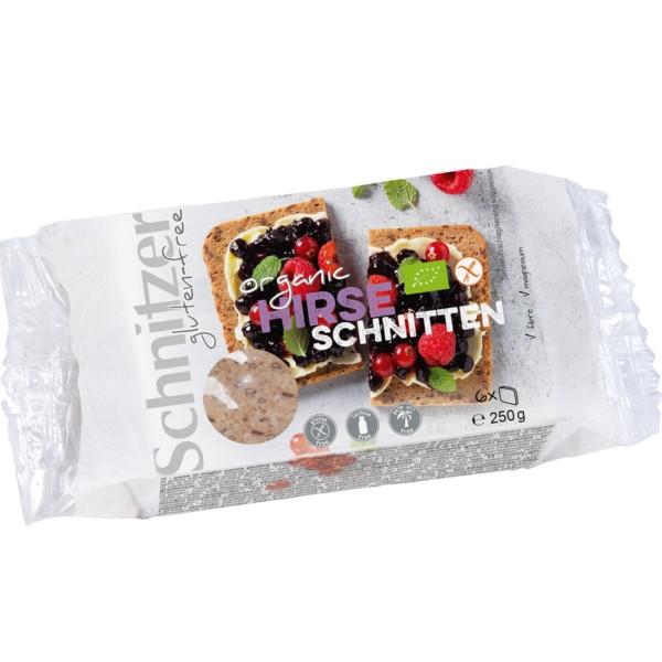 Βιολογικό Ψωμί από Κεχρί Bio 250γρ., Schnitzer