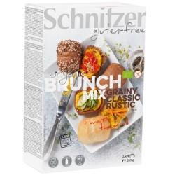 Βιολογικά Ψωμάκια για Πρόγευμα Bio Χωρίς Γλουτένη 200γρ., Schnitzer