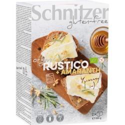 Βιολογικό Ψωμί Χωριάτικο με Αμάρανθο Bio Χωρίς Γλουτένη 500γρ., Schnitzer