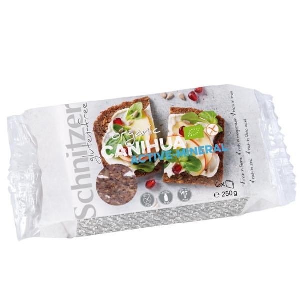 Βιολογικό Ψωμί από Κανίουα Bio 250γρ., Schnitzer