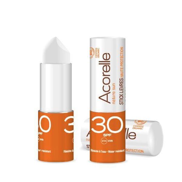 Αντηλιακό Lipstick SPF 30, 4γρ., Bio, Acorelle