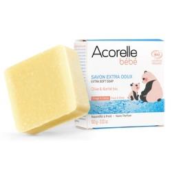 Σαπούνι Extra Soft με Καριτέ & Ελαιόλαδο, 100γρ., Acorelle
