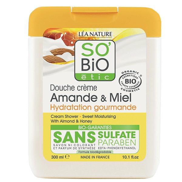 Αφρόλουτρο με Αμύγδαλο & Μέλι, 300 ml, So Bio