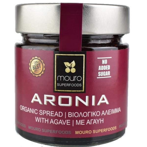 Βιολογικό Επάλειμμα Αρώνιας με Σιρόπι Αγαύης, 260 γρ., Bio, Mouro