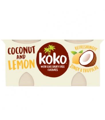 Γιαούρτι Καρύδας με Λεμόνι 2Χ125γρ Koko Dairy Free