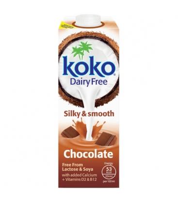 Ρόφημα Kαρύδας με Kακάο 1lt Χωρίς Λακτόζη, Koko Dairy Free