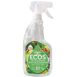 Υγρό Καθαρισμού Φρούτων & Λαχανικών, 650 ml, Ecos