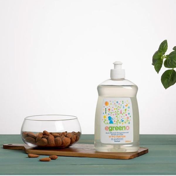 Υγρό Πιάτων Άοσμο, 500 ml, Egreeno