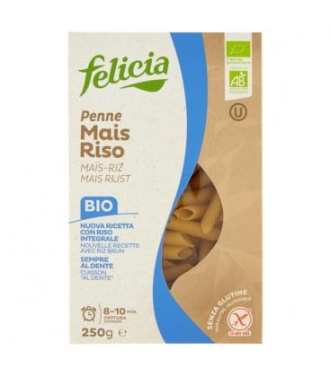 Βιολογικές Πέννες από Καλαμπόκι & Ρύζι Bio 250γρ Felicia