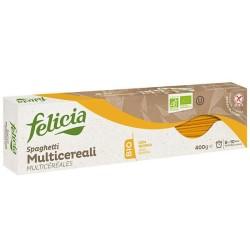 Βιολογικό Σπαγγέτι από 4 Δημητριακά Χωρίς Γλουτένη 400 γρ. Bio Felicia