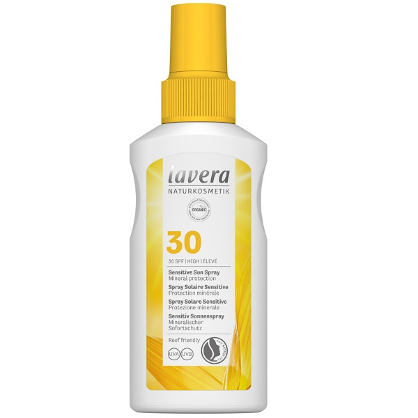 Αντηλιακό Sensitive Sun Spray SPF 30, 100ml, Lavera