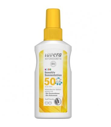 Παιδικό Αντηλιακό SPF 50, 100ml, Bio, Lavera