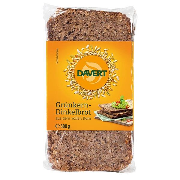 Βιολογικό Ψωμί Από Σίκαλη & Όλυρα (Dinkel) Ολικής, 500γρ., Bio, Davert
