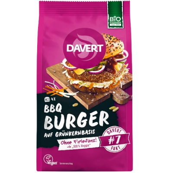 Βιολογικά BBQ Burger, Vegan, 160 γρ., Bio, Davert