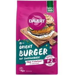 Βιολογικό, Orient Burger, Vegan, 185 γρ., Bio, Davert