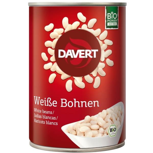 Έτοιμο Γεύμα με Βιολογικά Λευκά Φασόλια, 400γρ., Bio, Davert