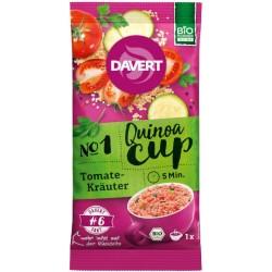 Έτοιμο Γεύμα με Κινόα Ντομάτα & Βότανα, 65γρ., Bio, Davert