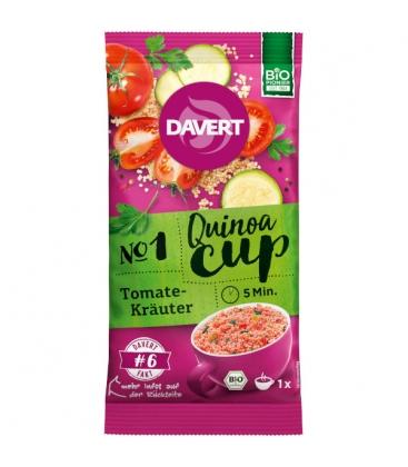 Quinoa-Cup tomato-herbs Νο1Έτοιμο γεύμα κινόα με ντομάτα & βότανα