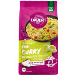 Έτοιμο Γεύμα Thai Curry με Ρύζι και Καρυκεύματα, 170 γρ., Bio, Davert