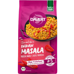 Έτοιμο Γεύμα Indian Masala με Ρύζι και Ινδικά Καρυκεύματα, 170 γρ., Bio, Davert