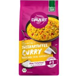 Έτοιμο γεύμα με γλυκοπατάτα, ρύζι & κόκκινη φακήSweet potato curry with red len