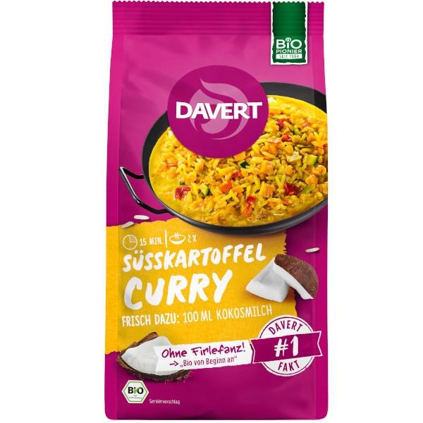 Έτοιμο Γεύμα με Γλυκοπατάτα, Ρύζι & Κόκκινη Φακή, 170γρ., Bio, Davert