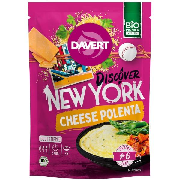 Έτοιμο Γεύμα Πολέντα με Τυρί, 130γρ., Bio, Davert