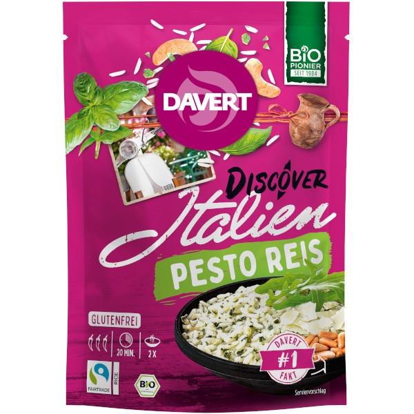 Έτοιμο Γεύμα Italien Pesto Rice, με Ρύζι, 125 γρ., Bio, Davert