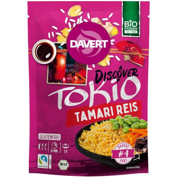 Έτοιμο Γεύμα με Ρύζι, Tokio Tamari Rice, 125 γρ., Bio, Davert