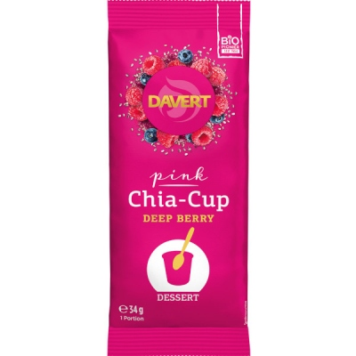 Chia-Cup Pink Deep BerryΠουτίγκα τσία με βατόμουρα