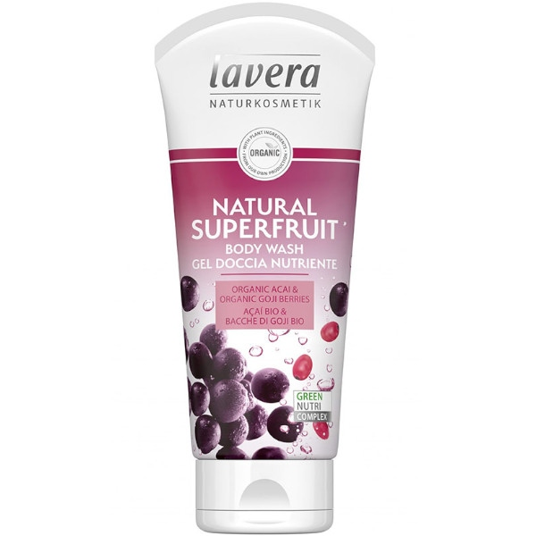 Αφρόλουτρο Natural Superfruit, 200 ml, Bio, Lavera