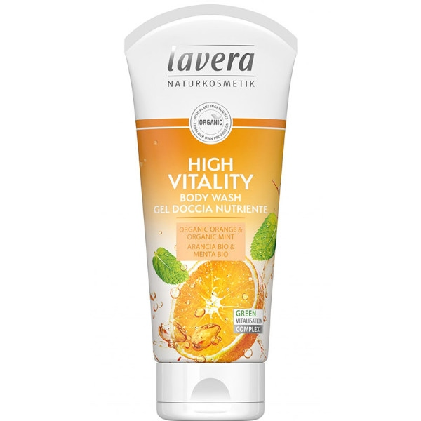 Αφρόλουτρο High Vitality 200 ml, Bio, Lavera