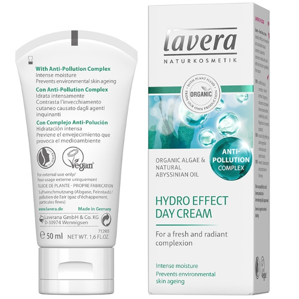 Κρέμα Ημέρας Hydro Effect, 50ml, Bio, Lavera