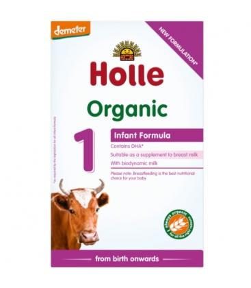 Βιολογική Φόρμουλα Γάλακτος 1ης Βρεφικής Ηλικίας 400γρ. Bio, Holle