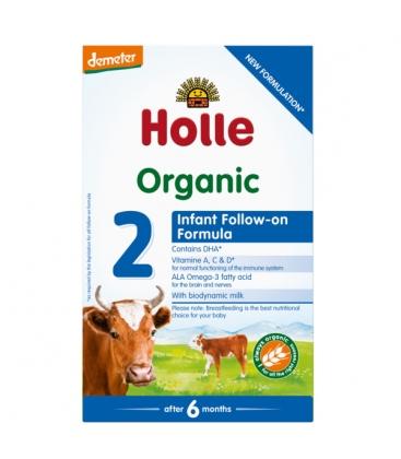 Βιολογική Φόρμουλα Γάλακτος 2ης Βρεφικής Ηλικίας 600γρ. Bio, Holle