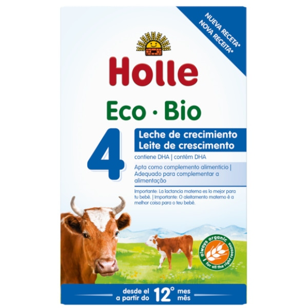 Βιολογική Φόρμουλα Γάλακτος 4ης Βρεφικής Ηλικίας Bio 600γρ., Holle